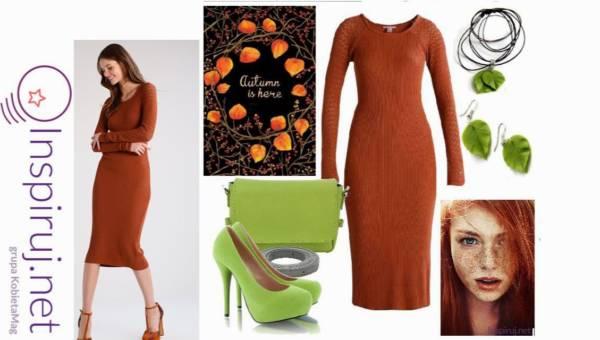 Stylizacje dnia z Inspiruj.net – Modne sukienki na jesień