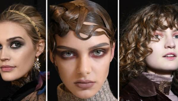 Modny makijaż oczu i ust jesień – zima 2017/18 – prosto z wybiegów mody. Stwórz go kosmetykami marki BELL