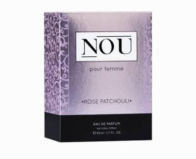 pudełko perfum nou pour femme rose patchouli