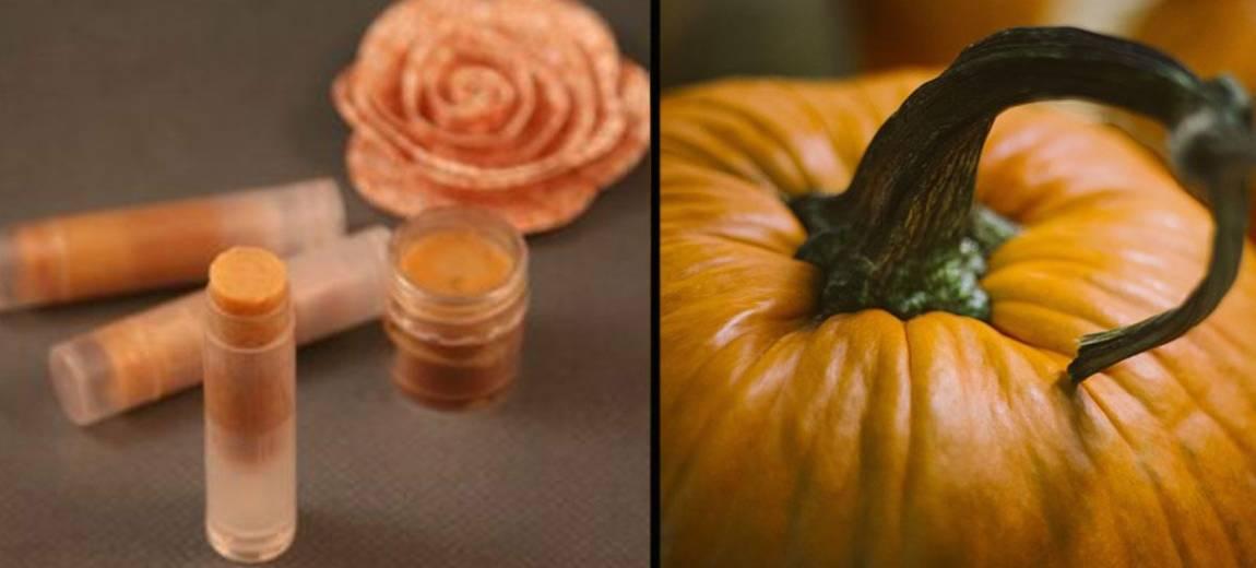 DIY: ochronny balsam do ust na jesień o zapachu Pumpkin Spice!