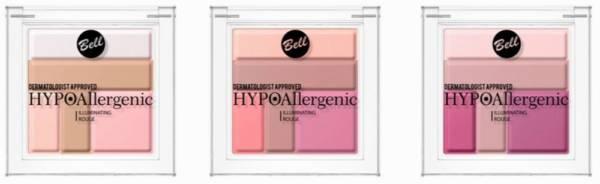 HYPOAllergenic Illuminating Rouge, Hypoalergiczny róż rozświetlający
