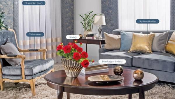 Styl luksusowej rezydencji – dodaj mieszkaniu nieco glamour