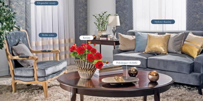 styl luksusowej rezydencji - elementy stylu