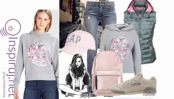 Stylizacje dnia z Inspiruj.net – Szara bluza czy szary sweter? Co wybierzesz tej jesieni?