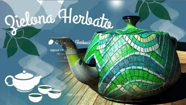 Infografika: Herbata zielona a matcha – właściwości, antyoksydanty, parzenie