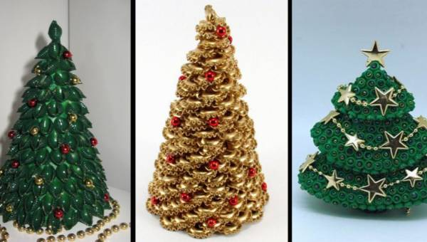 DIY: Piękna choinka z makaronu, którą ozdobisz świąteczny stół!