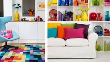Color blocking – nowy trend wnętrzarski, który poprawi Twój nastrój!