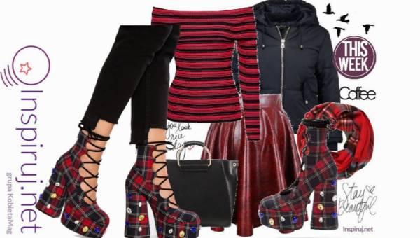 Outfit Dnia: Ekstrawaganckie buty – Tak czy Nie?