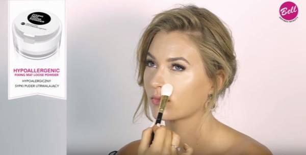 utrwalenie makijażu twarzy