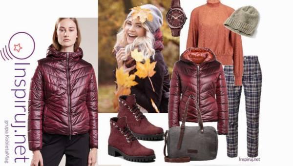Inspiruj.net – Modne Stylizacje Dnia: Przejściowa kurtka na jesienny spacer