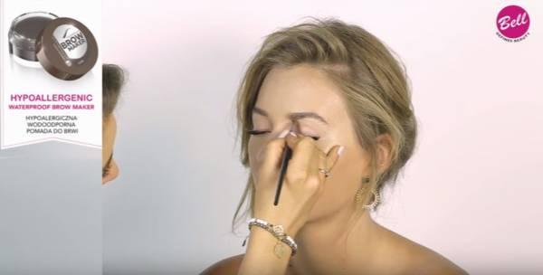 makijaż oczu - makijaż brwi