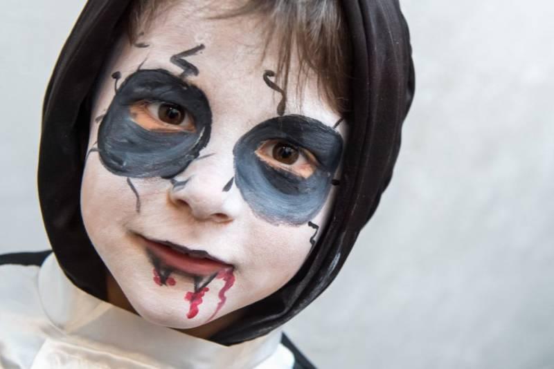 Makijaż na Halloween dla dzieci – najciekawsze pomysły