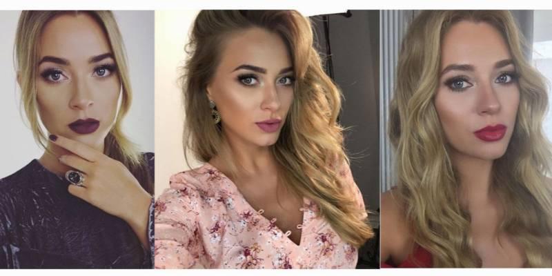 Marcelina Zawadzka zdjęcia w makijażu