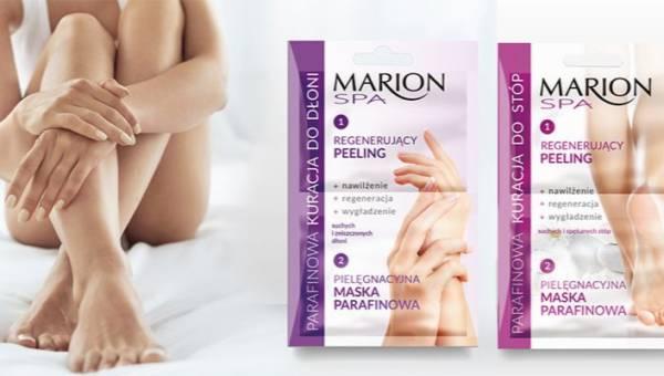 Marion: Parafinowa kuracja do dłoni i stóp