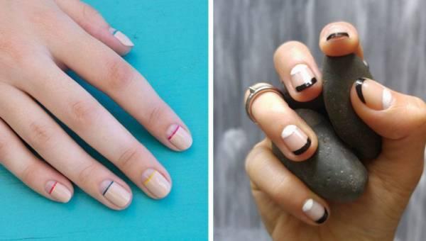 Negative manicure – najmodniejsze paznokcie tej jesieni!