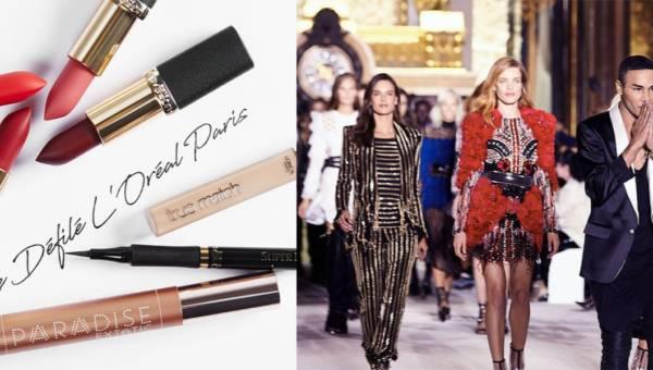 Niezwykły pokaz L'Oréal x Balmain na Paris Fashion Week 2017