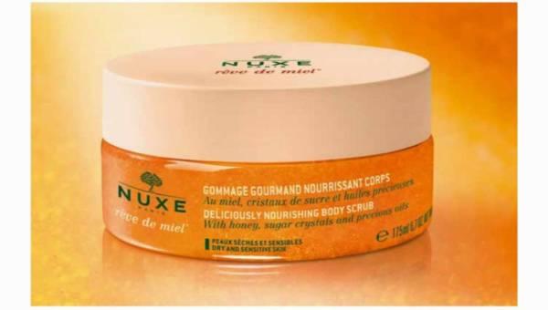 Nuxe, Smakowicie odżywczy peeling do ciała Rêve de Miel