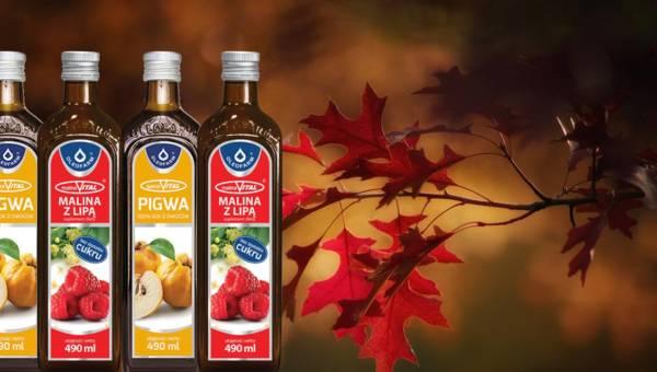 Soki VITAL – jesienna dawka witamin