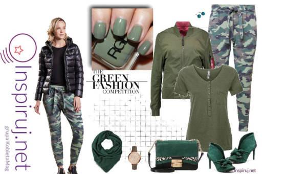 Gotowe Stylizacje Dnia: Ubrania moro – czyli  wojowniczka w miejskiej dżungli