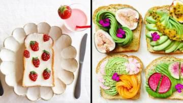 Toast art, czyli sztuka do zjedzenia