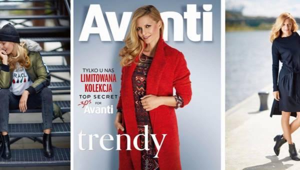 Top Secret for Avanti – jesienne kurtki i płaszcze