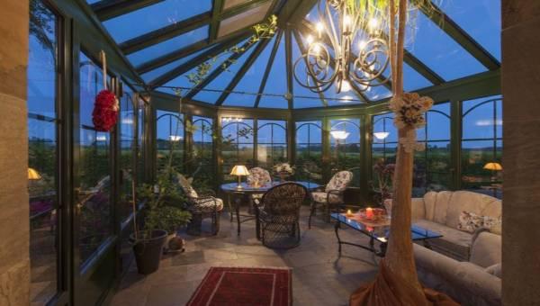 Ogród zimowy na tarasie lub balkonie: DIY