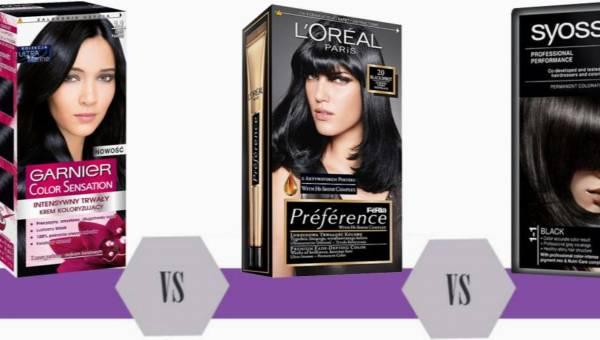 Bitwa na kosmetyki: farby do włosów: Syoss, Garnier Color Sensation czy L'Oreal Preference