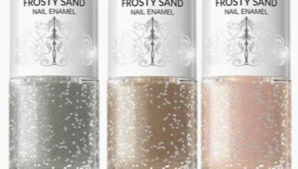 Bell, Frozen Baroque Frosty Sand Nail Enamel – lakier do paznokci