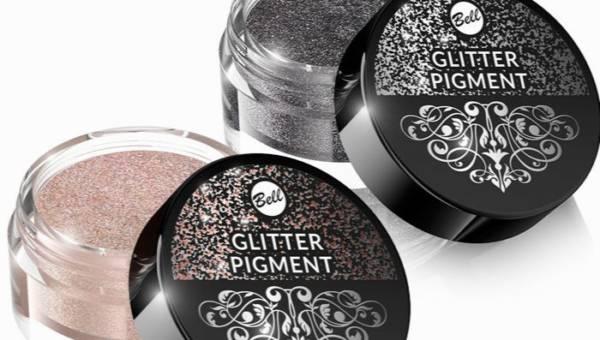 Bell, Glitter Pigment – połyskujące sypkie cienie do powiek