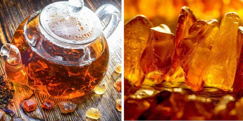 herbata z bursztynem