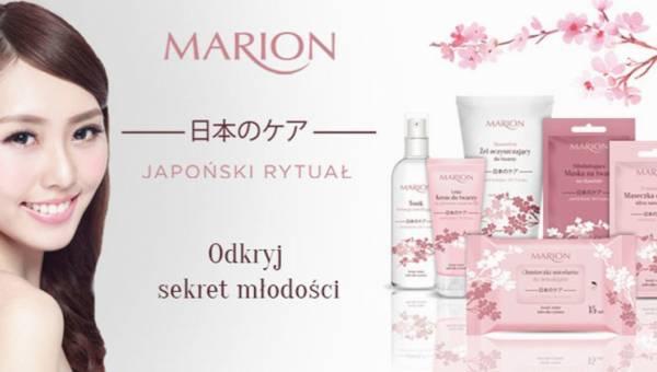 Japoński sposób na młodą, świeżą cerę – Marion Japoński Rytuał