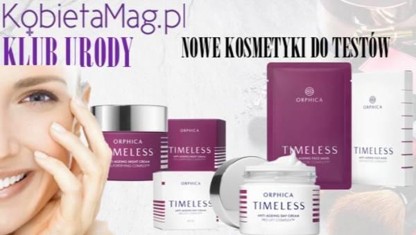 Klub Urody KobietaMag.pl: Testuj nowość – niezwykły zestaw kosmetyków anti-ageing TIMELESS