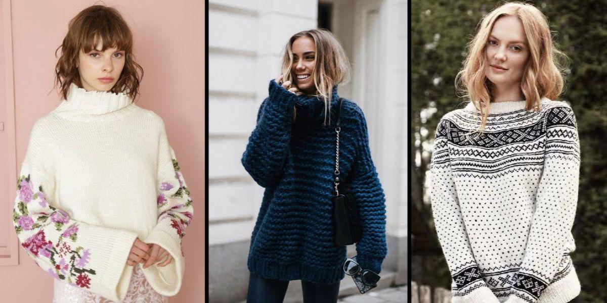 7155bd24e168 Sprawdź modne swetry jesień zima 2017 - KobietaMag.pl