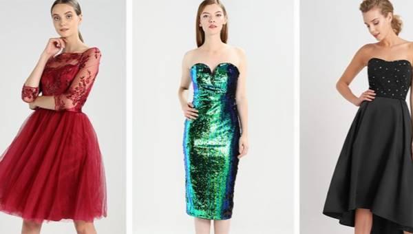 Sukienki na andrzejki 2017, sylwestra i karnawał