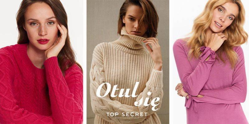 Swetry Top Secret – najmodniejsze propozycje na jesień i zimę