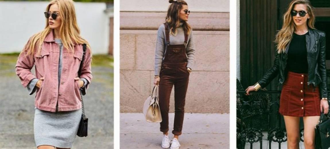 Sztruks: modny trend jesień-zima 2017