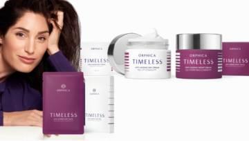 Nowość: Kosmetyki  TIMELESS marki ORPHICA – z nimi zatrzymasz upływ czasu