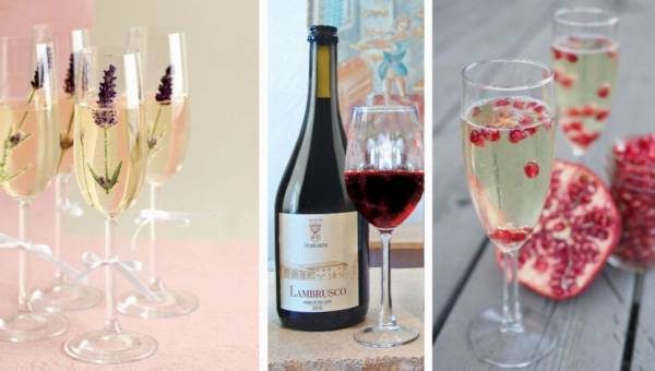 Co zamiast szampana można podać gościom w Sylwestra?