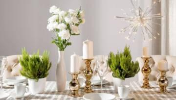 Jak udekorować świąteczny stół? 5 najlepszych dodatków