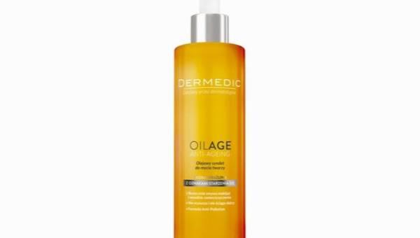 Dermedic Oilage, Olejowy syndet do mycia twarzy