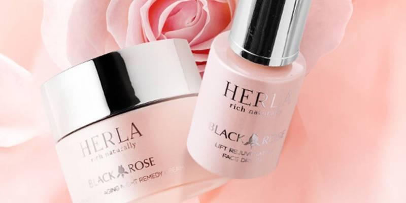 Herla Black Rose