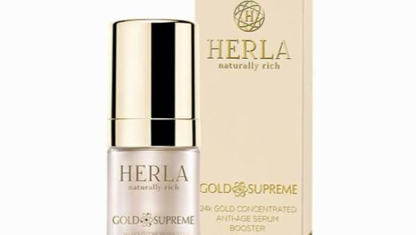 Herla Gold Supreme, 24k Złoto Booster skoncentrowane serum odmładzające