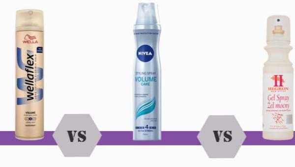 Bitwa na kosmetyki: lakiery do włosów – Wella, Nivea czy Hegron?