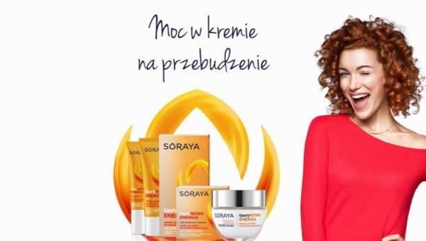 Nowości kosmetyczne z linii Soraya tauryNOWA ENERGIA – obudź swoją skórę!