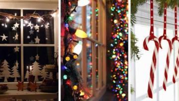 Ozdoby świąteczne na okno: DIY