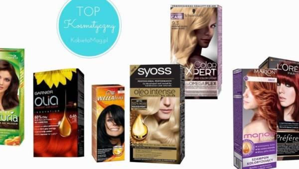 Top kosmetyczny: najlepsze farby do włosów