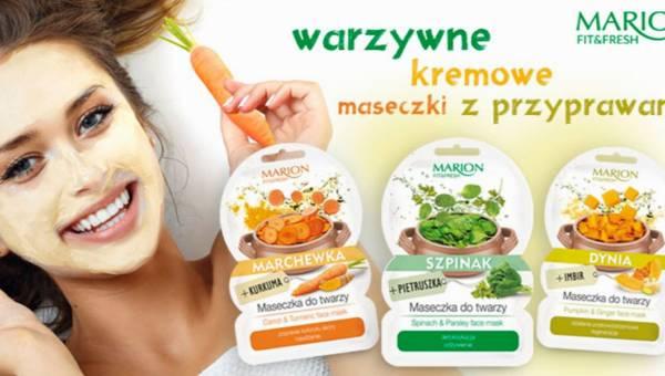 Maseczki warzywne Marion Fit&Fresh: zdrowa moc warzyw i przypraw