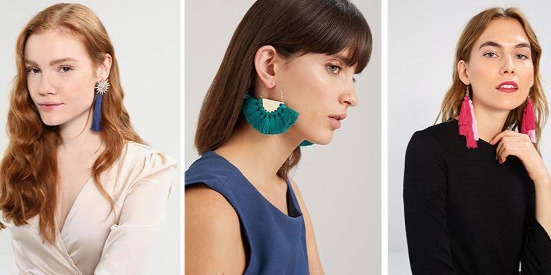 Modne kolczyki 2018: modele z chwostami