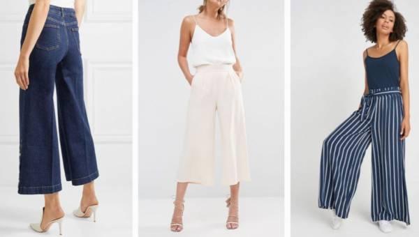 Modne spodnie 2018. Co będziemy nosić tej wiosny?