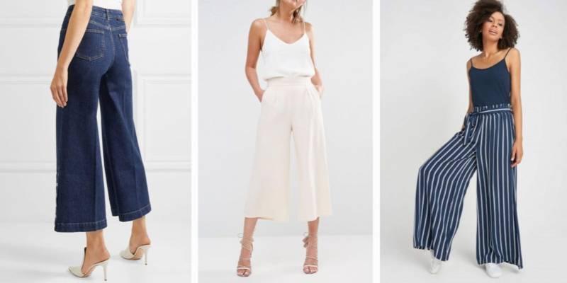 Modne spodnie 2018